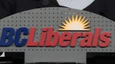 BC Liberals sign