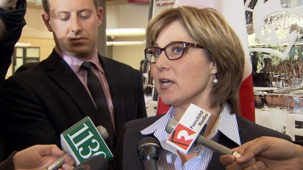 Christy Clark dismisses junk food tax