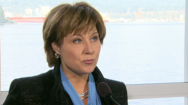 Christy Clark on Destination BC