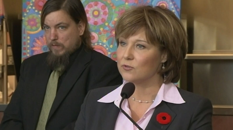 B.C. Premier Christy Clark discusses plans to celebrate the province's first Family Day. Nov. 8, 2012. (CTV)
