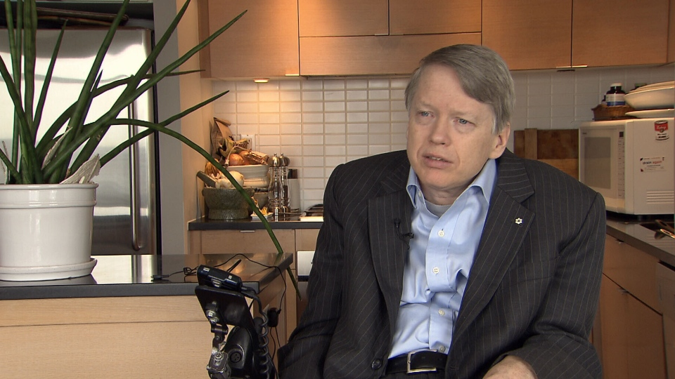 Sam Sullivan announced he is running for the BC Liberals on Nov. 9, 2012. (CTV)
