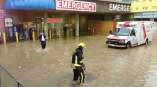 Flood at Surrey Memorial Hospital
