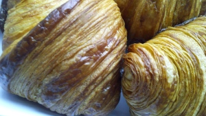 The caramel colour is the tell-tale sign of perfection in a croissant. (CTV)