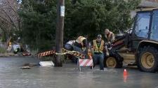 Oak Bay flood