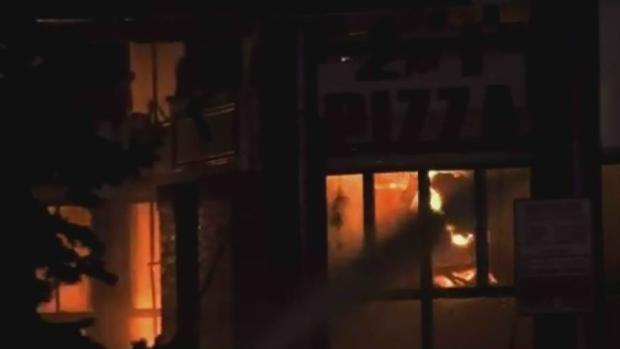 Kelowna business fire