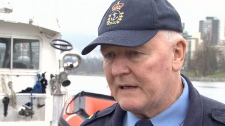Coast Guard officer Gerry Moores