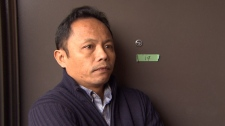 Widowed father Nilo Tumanda