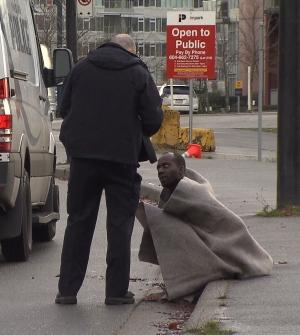 Man arrested at assault scene