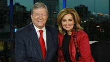 Pamela Martin and Bill Good announced they are stepping down from the CTV British Columbia anchor desk after nearly ten years. Vancouver, B.C., Tuesday, Dec. 7, 2010. (CTV)