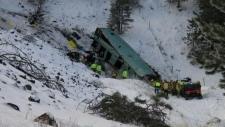 Mounties notify next-of-kin in Oregon bus crash