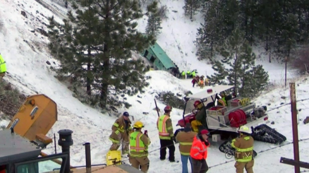 CTV BC: Bus crash under investigation