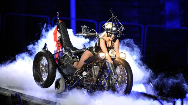 Lady Gaga at Rogers Arena