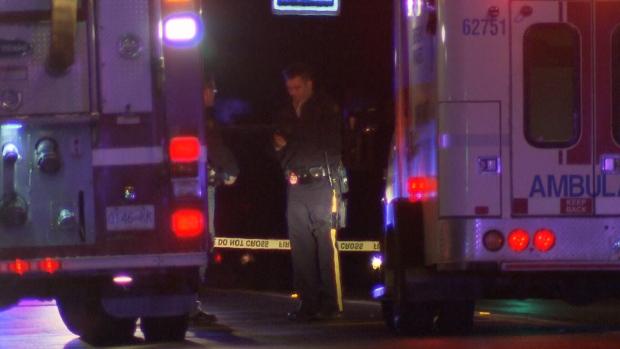Langley stabbing scene