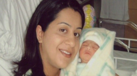 Manjit Panghali was four months pregnant with her second child when she was killed in October 2006. (CTV)