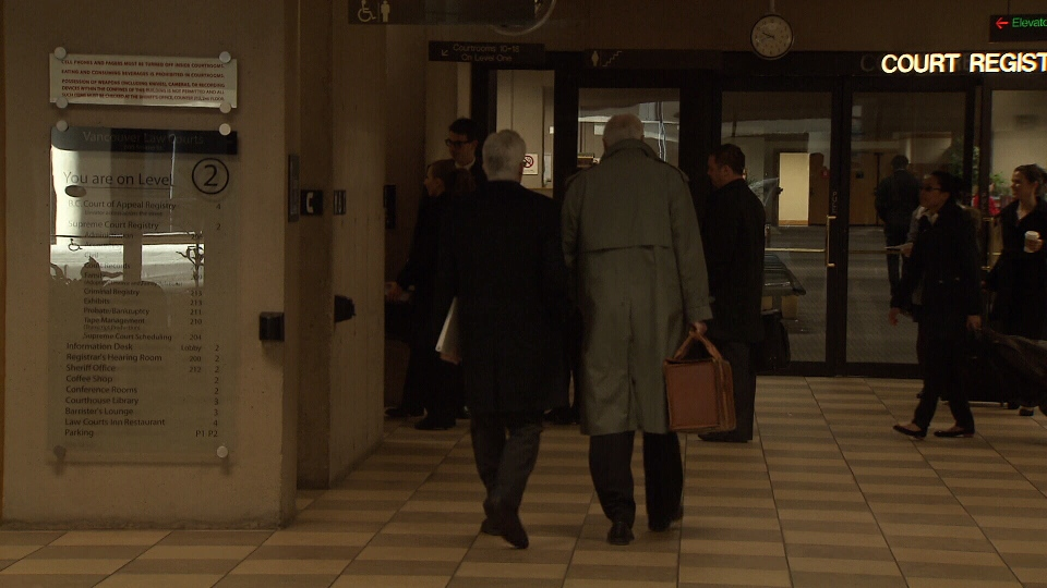 The navigation officer for sunken ferry Queen of the North, Karl Lilgert, heads to trial on Jan. 12, 2013. (CTV)