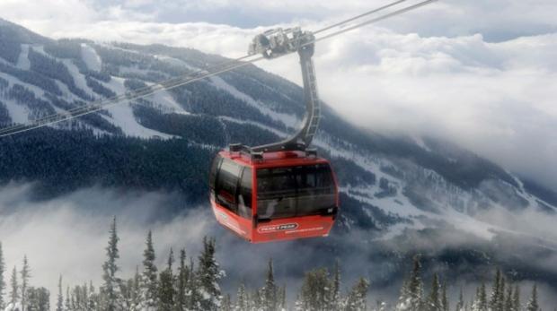 Blackcomb mountain in Whistler