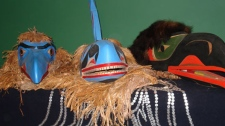First Nations mask artwork