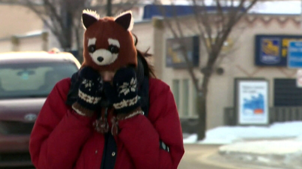 Residents in prairie provinces deal with a bone-chilling deep freeze.