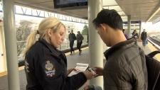 Transit police fare evasion crackdown