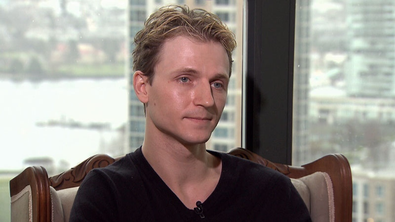 Actor Chad Rook, 30, said he was interrogated for nine hours and then banned from entering the U.S. for five years because officials said he withheld information from them. (CTV)