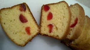 Coleen's cherry cake