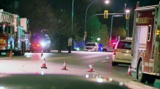 CTV BC: Police burn confiscated explosives