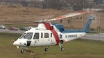 An air ambulance lands down in this CTV News file photo.