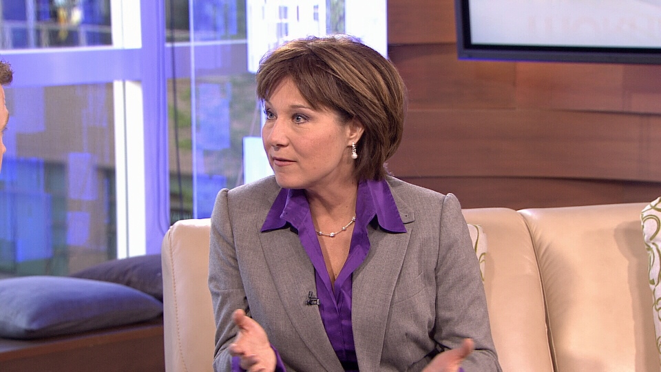 B.C. Premier Christy Clark speaks to CTV Morning Live about her performance in the party leaders debate. (CTV)