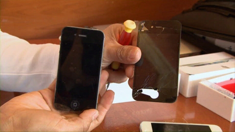 cracked iphone repair lynda on your side consumer iphone 2484