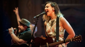Icelandic indie-folk band Of Monsters and Men perform at Vancouver's Orpheum theatre Sunday night as part of their North American tour.