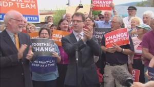 CTV BC: Dix, NDP anxiously await poll results