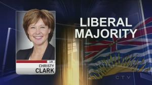 CTV National News: Liberals win B.C. election