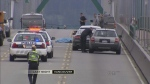 CTV BC: Motorcyclist killed in head-on bridge cras