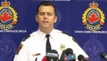 Hamilton Police Supt. Dan Kinsella gives an update on the investigation into the death of Timothy Bosma at a press conference in Hamilton, Ont. on Wednesday, May 22, 2013.