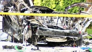 CTV BC: Car explosions jolts neighbourhood