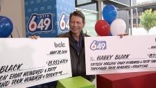 Harry Black Lotto Winner