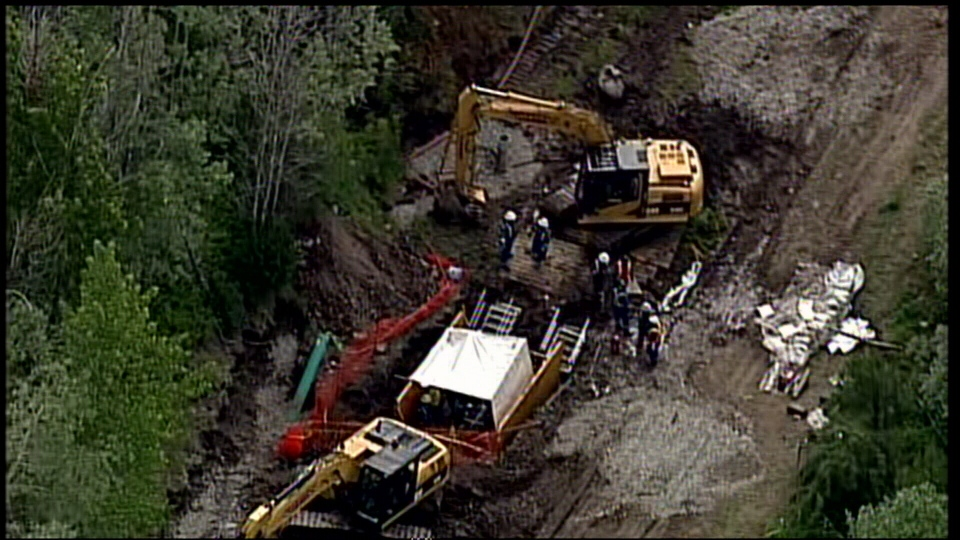 Kinder Morgan Says Leak From Trans Mountain Pipeline Is