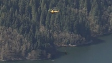 Search and rescue teams performed a dramatic long line helicopter rescue to save a missing puppy Thursday -- 15 days after the beloved pet went missing in B.C.'s North Shore mountains.