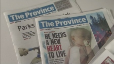 CTV BC: Online news trend taking toll on dailies