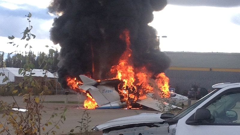 Fiery plane crash in Fort Nelson | CTV Vancouver News