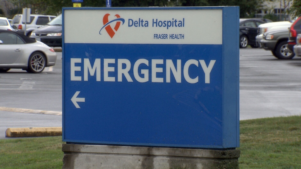 Delta Hospital in B.C. is under fire after a 90-year-old woman was discharged in the middle of the night and sent home in a taxi.