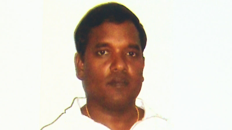 Sathyapavan Aseervatham was tortured after being deported from Canada to Sri Lanka, according to an affidavit obtained by CTV News. Oct. 8, 2013.