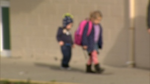 Hands-off policy for kindergarteners