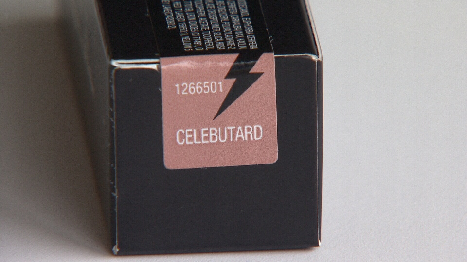 "Sephora has stopped selling the ""celebutard"" lipstick from tattoo artist Kat Von D's exclusive line. Nov. 6, 2013."