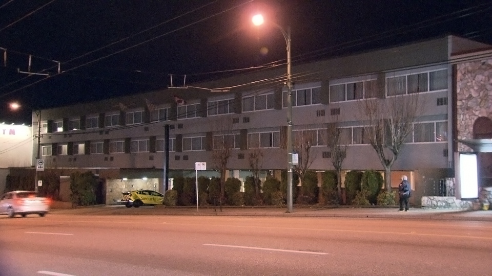 A City of Vancouver plan to turn an old Ramada Hotel into a temporary homeless shelter has drawn the ire of parents in an East Vancouver neighbourhood. Dec. 3, 2013. (CTV)