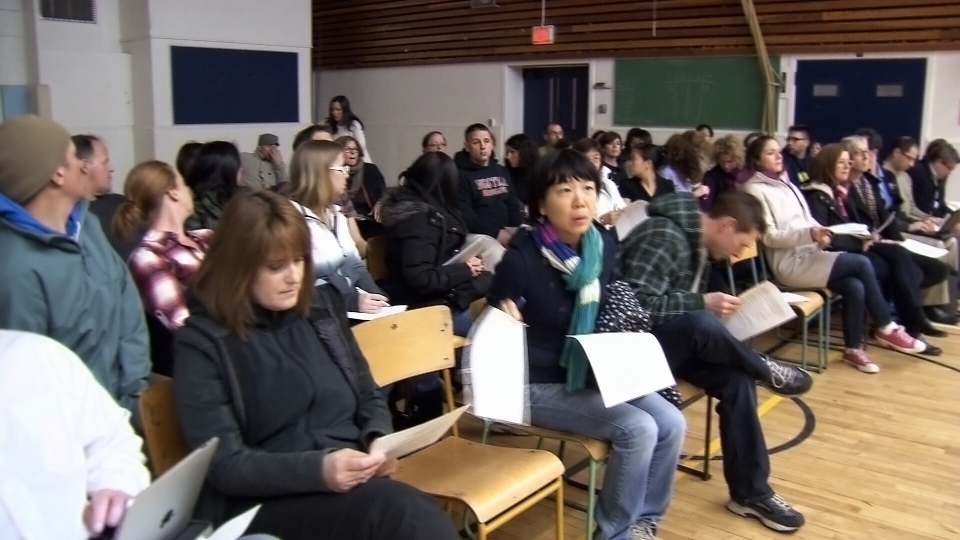 A City of Vancouver plan to turn an old Ramada Hotel into a temporary homeless shelter has drawn the ire of parents and residents in an East Vancouver neighbourhood. Dec. 3, 2013. (CTV)