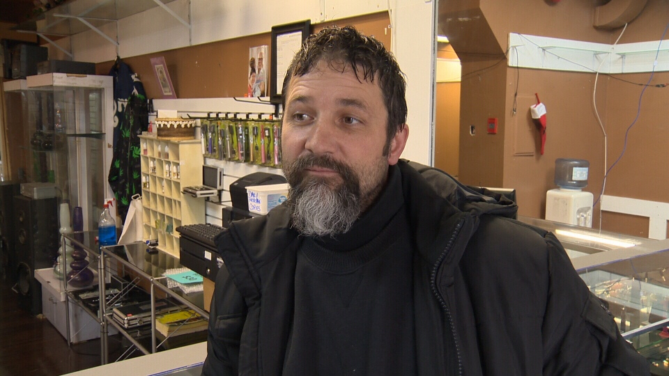 Ryan Place says the town of Esquimalt has made it too costly for him to continue business, so must pack up and move elsewhere. Dec. 18, 2013. (CTV)
