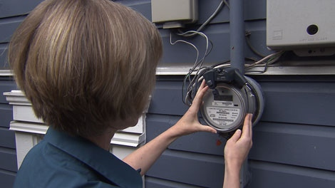 BC Hydro plans to put smart meters in every home in the province. Sept. 26, 2011. (CTV)