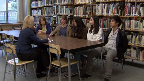 Teens at Churchill Secondary School in Vancouver agreed that more time needs to be spent teaching personal finance in high school. (CTV)