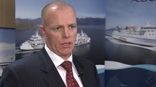 Incoming BC Ferries CEO Mike Corrigan talks to CTV News about his priorities in the new position. Dec. 6, 2011. (CTV)